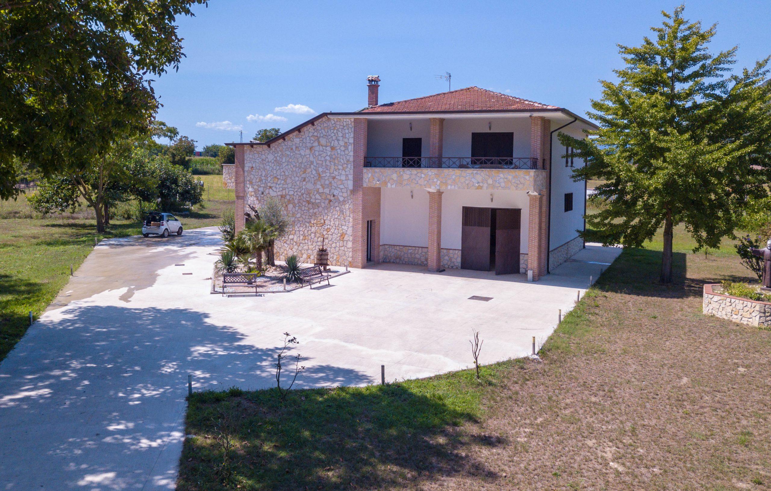 Villa in vendita a Pietravairano