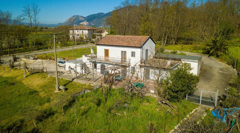 Vista casa di campagna Pratella (13)