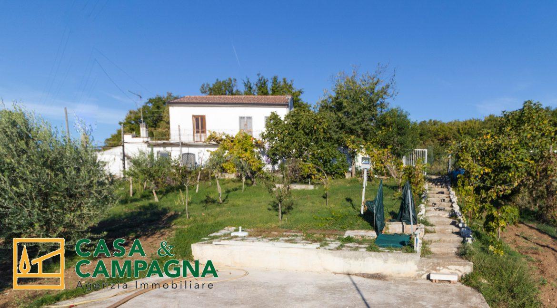 Vista casa di campagna Pratella (6)